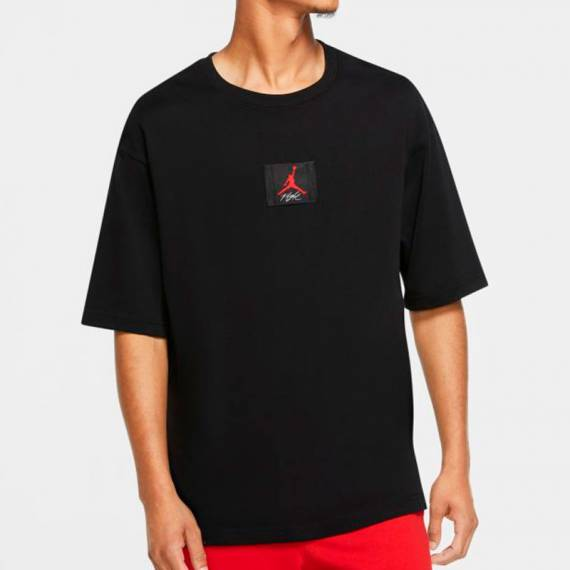 JORDAN FLIGHT HERITAGE SS TEE BLACK
