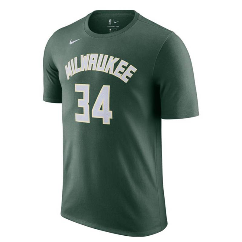 GIANNIS ANTETOKOUNMPO MILWAUKEE BUCKS ICON EDITION N&N TEE 2021