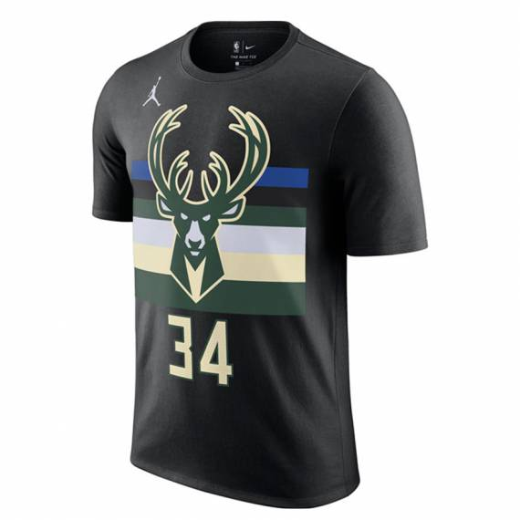 GIANNIS ANTETOKOUNMPO MILWAUKEE BUCKS STATEMENT EDITION N&N TEE 2021