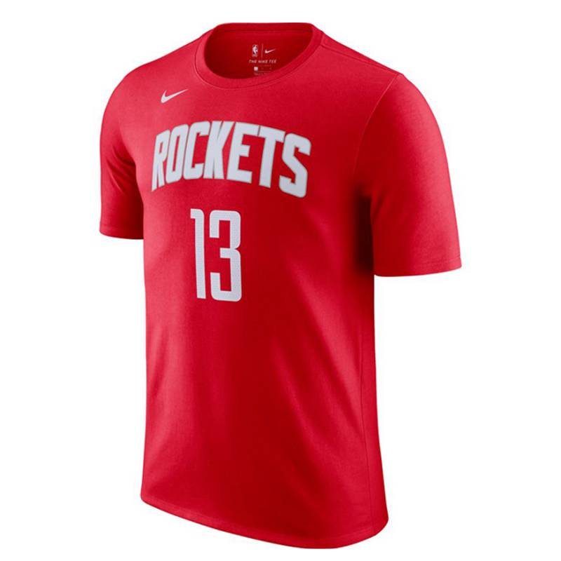 JAMES HARDEN HOUSTON ROCKETS ICON EDITION N&N TEE 2021