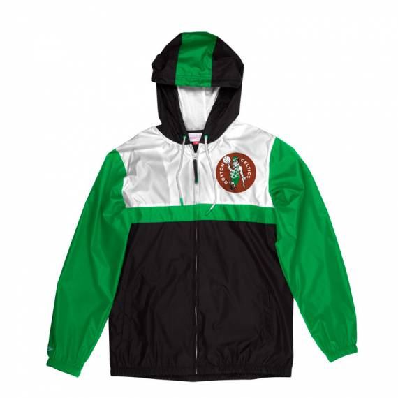 MARGIN OF VICTORY WINDBREAKER BOSTON CELTICS