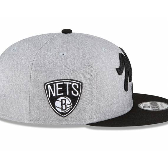 BROOKLYN NETS NBA DRAFT 2020 9FIFTY GREY