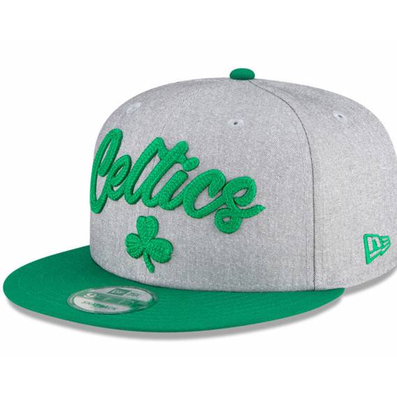 BOSTON CELTICS NBA DRAFT 2020 9FIFTY GREY