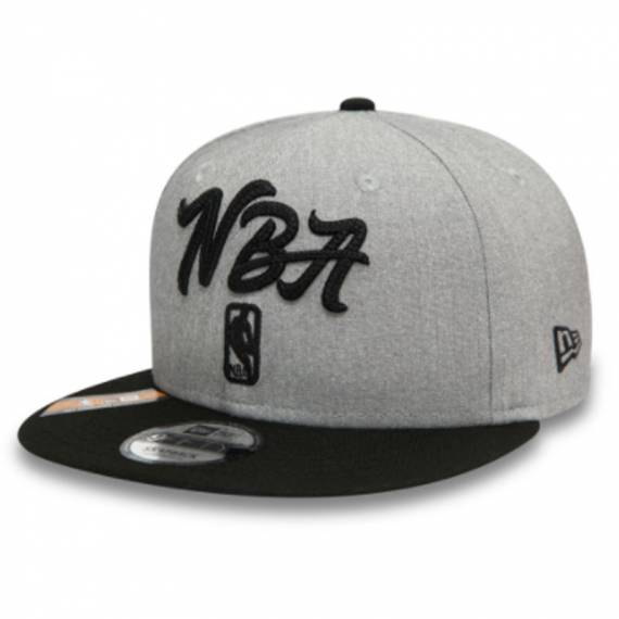 NBA LOGO DRAFT 2020 9FIFTY GREY