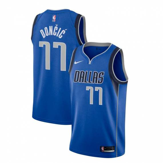 LUKA DONCIC DALLAS MAVERICKS ICON EDITION SWINGMAN JERSEY 2020