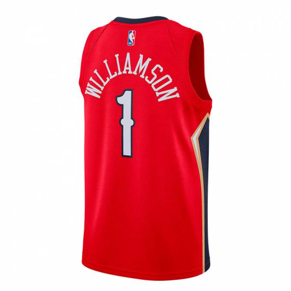 ZION WILLIAMSON NEW ORLEANS PELICANS STATEMENT EDITION SWINGMAN JERSEY 2020