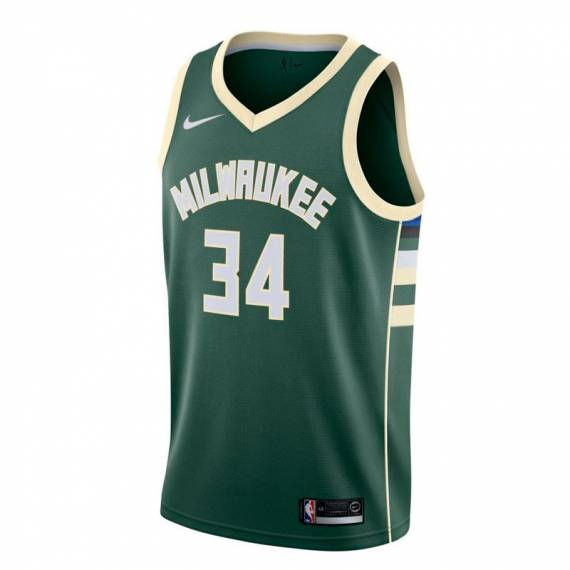 GIANNIS ANTETOKOUNMPO MILWAUKEE BUCKS ICON EDITION SWINGMAN JERSEY 2020