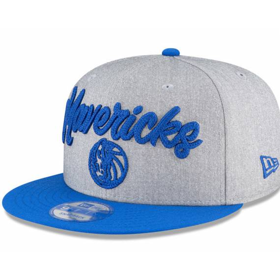 DALLAS MAVERICKS NBA DRAFT 2020 9FIFTY GREY