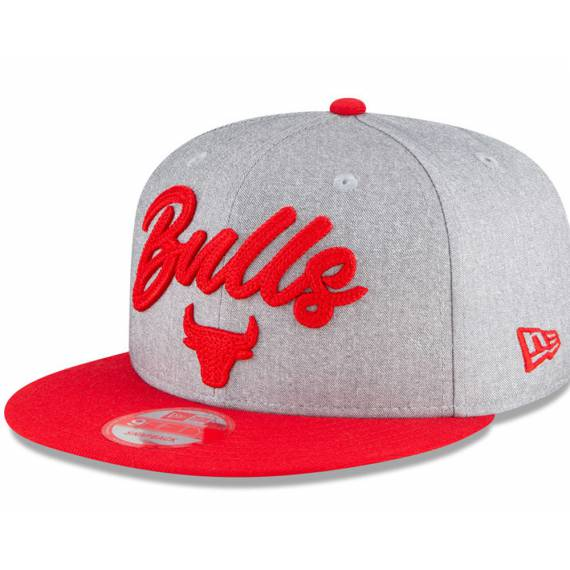 CHICAGO BULLS NBA DRAFT 2020 9FIFTY GREY