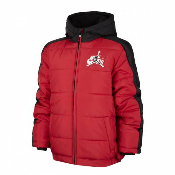 JORDAN JUMPMAN CLASSIC PUFFER JACKET RED