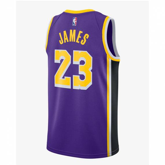LERBON JAMES LOS ÁNGELES LAKERS STATEMENT EDITION SWINGMAN JERSEY 2020