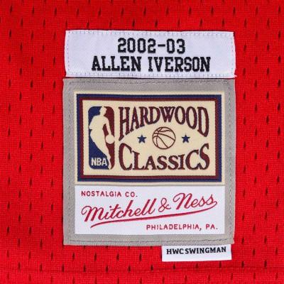 ALLEN IVERSON PHILADELPHIA 76SIXERS HARDWOOD CLASSICS 02-03