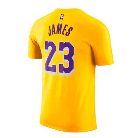 LEBRON JAMES LOS ANGELES LAKERS ICON EDITION TEE 2021