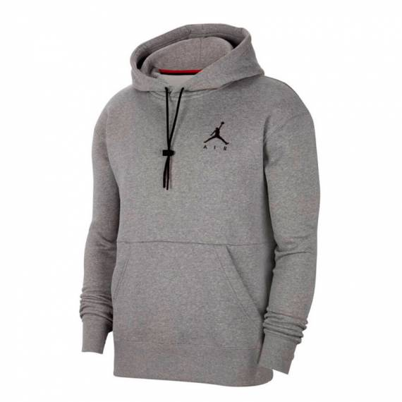 JORDAN JUMPMAN AIR FLEECE HOODIE GREY