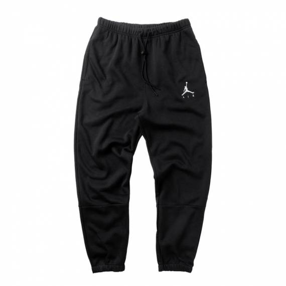 JORDAN JUMPMAN AIR FLEECE PANT BLACK