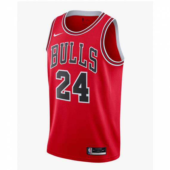 LAURI MARKKANEN ICON EDITION SWINGMAN JERSEY CHICAGO BULLS 2021