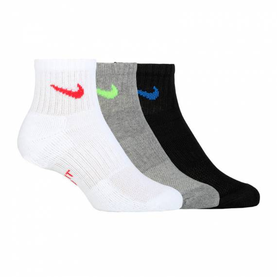NIKE EVERYDAY CUSH ANKLE (PACK DE 3)