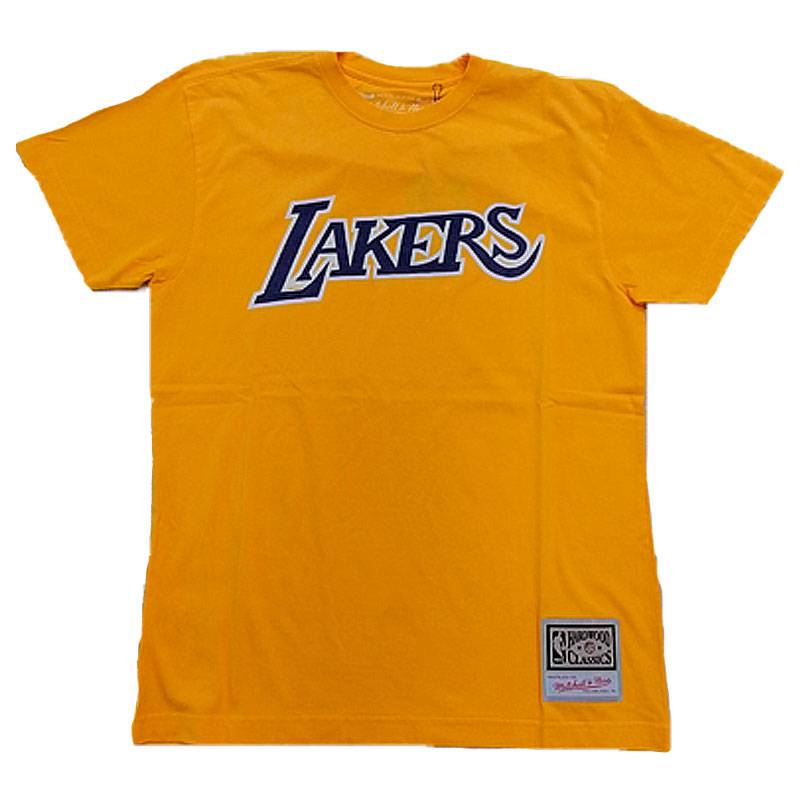 LOS ÁNGELES LAKERS LOGO WORDMARK TEE