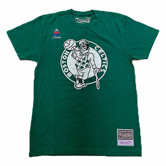 BOSTON CELTICS LOGO WORDMARK TEE