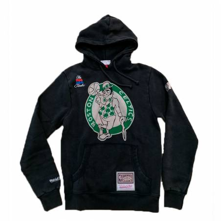 BOSTON CELTICS LOGO WORDMARK HOODY