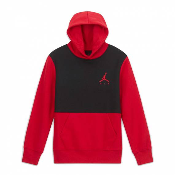 JUMPMAN AIR FLEECE RED (JUNIOR)