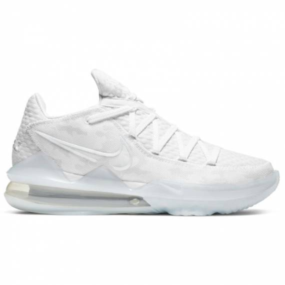 LEBRON XVII LOW WHITE CAMO