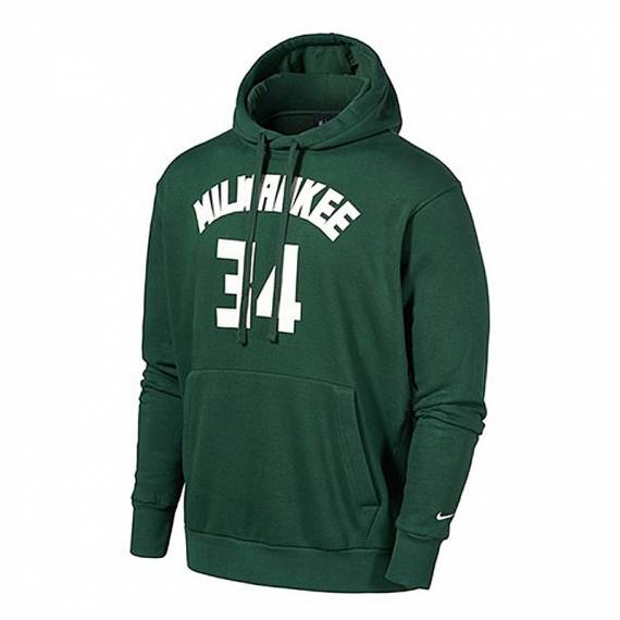 GIANNIS ANTETOKOUNMPO MILWAUKEE BUCKS ESSENTIAL HOODIE N&N 2021
