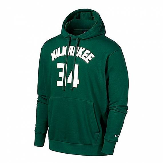 GIANNIS ANTETOKOUNMPO MILWAUKEE BUCKS ESSENTIAL HOODIE N&N 2021 (JUNIOR)