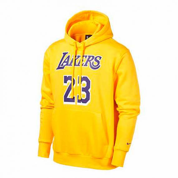 LEBRON JAMES LOS ANGELES LAKERS ESSENTIAL HOODIE N&N 2021 (JUNIOR)
