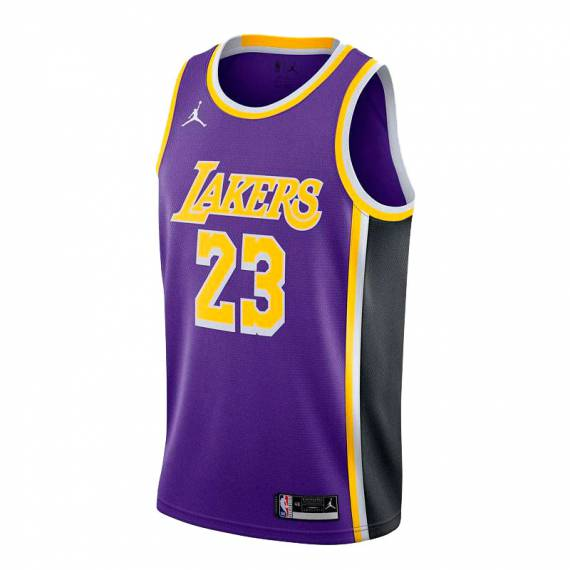 LEBRON JAMES LOS ÁNGELES LAKERS STATEMENT EDITION SWINGMAN JERSEY 2021 (JUNIOR)