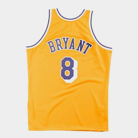 AUTHENTIC JERSEY KOBE BRYANT 8 LAKERS '96
