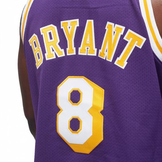 AUTHENTIC JERSEY KOBE BRYANT 8 LAKERS AWAY '96