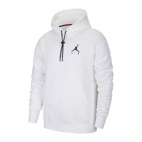 JORDAN JUMPMAN AIR FLEECE HOODIE WHITE