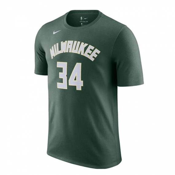 GIANNIS ANTETOKOUNMPO MILWAUKEE BUCKS ICON EDITION N&N TEE 2021 (JUNIOR)