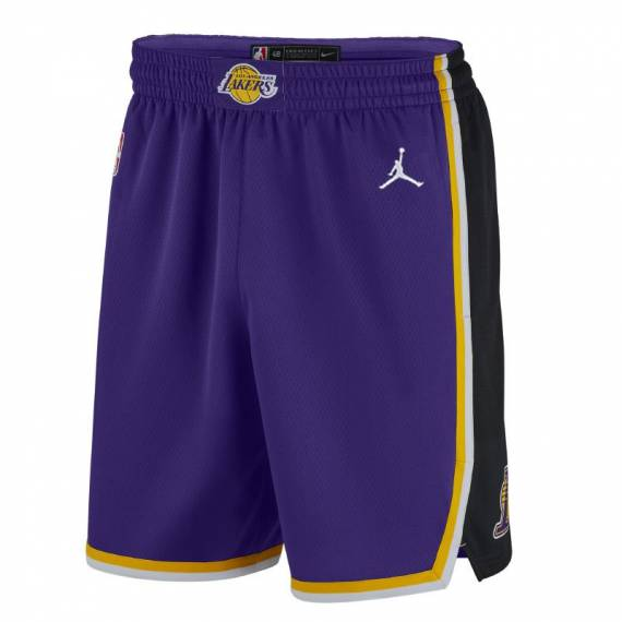 LOS ÁNGELES LAKERS STATEMENT EDITION SWINGMAN SHORT 2021 (JUNIOR)