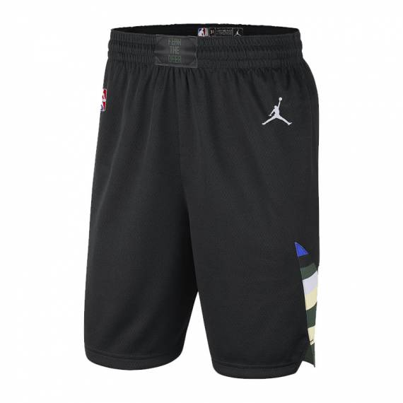 MILWAUKEE BUCKS STATEMENT EDITION SWINGMAN SHORT 2021 (JUNIOR)