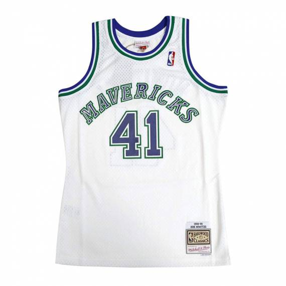 DIRK NOWITZKI DALLAS MAVERICKS HOME HARDWOOD CLASSICS 98-99