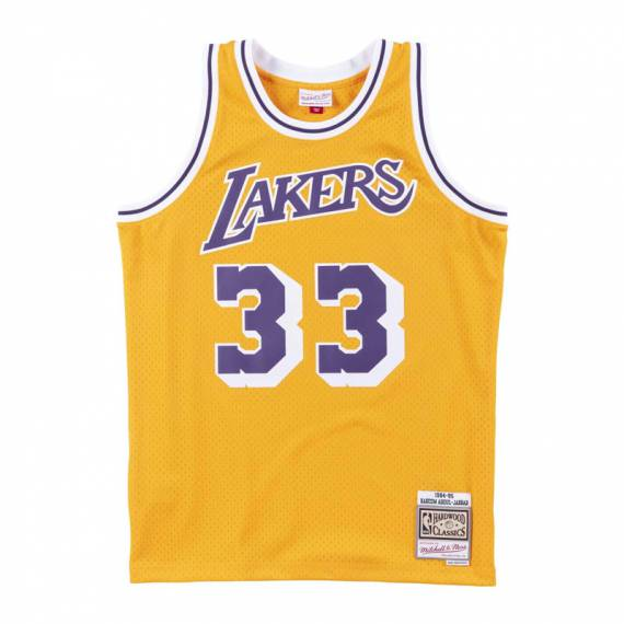 KAREEM ABDUL-JABBAR LOS ANGELES LAKERS 84-85