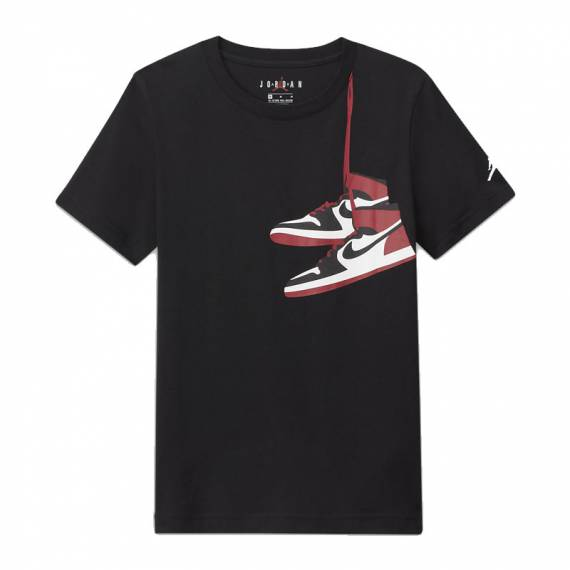 JORDAN AIR JORDAN 1 STREET VIEW BLACK (JUNIOR)