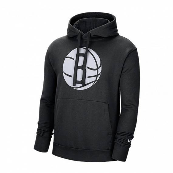 BROOKLYN NETS LOGO FLEECE PO HOODIE 2021 (JUNIOR)