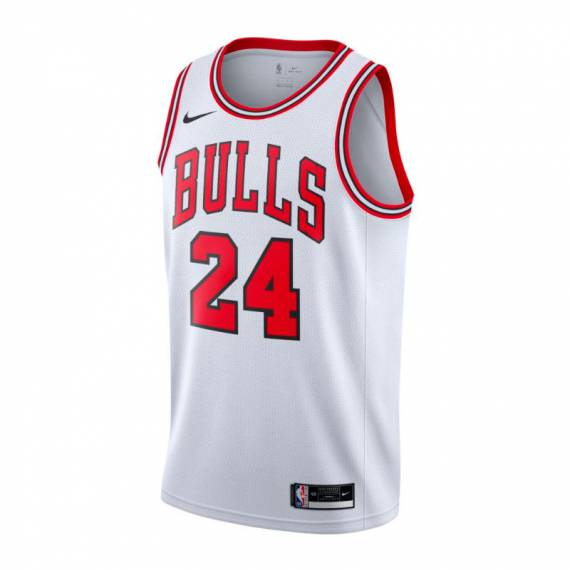LAURI MARKKANEN CHICAGO BULLS ASSOCIATION EDITION SWINGMAN JERSEY 2021
