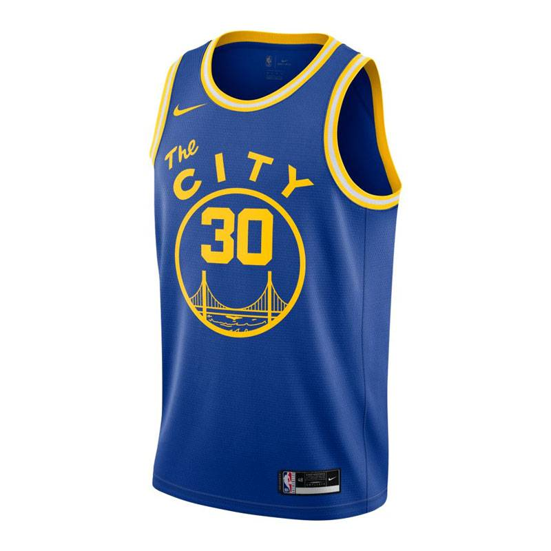 STEPHEN CURRY GOLDEN STATE WARRIORS CLASSIC EDITION SWINGMAN JERSEY 2021