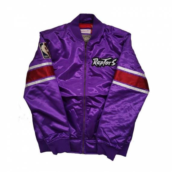 HEAVYWEIGHT SATIN JACKET RAPTORS