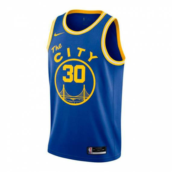 STEPHEN CURRY GOLDEN STATE WARRIORS CLASSIC EDITION SWINGMAN JERSEY 2021 (JUNIOR)
