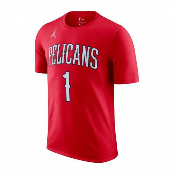 ZION WILLIAMSON NEW ORLEANS PELICANS STATEMEN EDITION N&N TEE 2021 (JUNIOR)