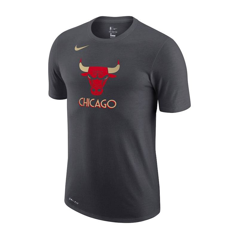 CHICAGO BULLS CITY EDITION LOGO TEE 2021
