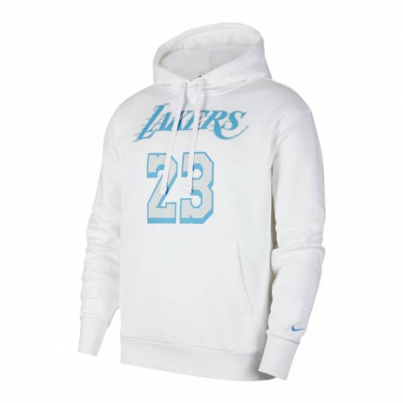 LEBRON JAMES LOS ÁNGELES LAKERS ESSENTIAL CITY EDITION N&N HOODIE (JUNIOR)