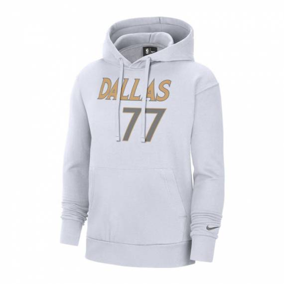 LUKA DONCIC DALLAS MAVERICKS ESSENTIAL CITY EDITION N&N HOODIE (JUNIOR)