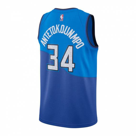 GIANNIS ANTETOKOUNMPO MILWAUKEE BUCKS CITY EDITION SWINGMAN JERSEY 2021 (JUNIOR)