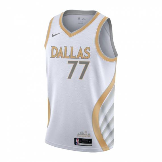LUKA DONCIC DALLAS MAVERICKS CITY EDITION SWINGMAN JERSEY 2021 (JUNIOR)